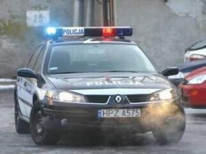 Szczyrk samochód policja